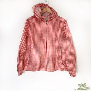 🌵 LL BEAN hooded lightweight rain coat
